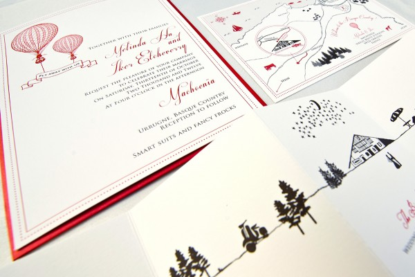 Creative Wedding Invitation Suite Designers In Singapore - Birthday invitation cards singapore