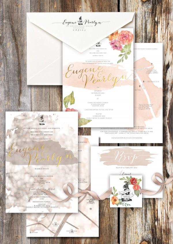 9 Creative Wedding Invitation Suite Designers in Singapore ...