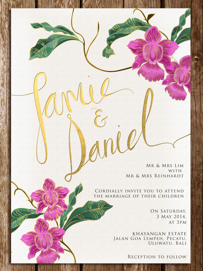 Wedding Invitation Etiquette For The Singapore Couple