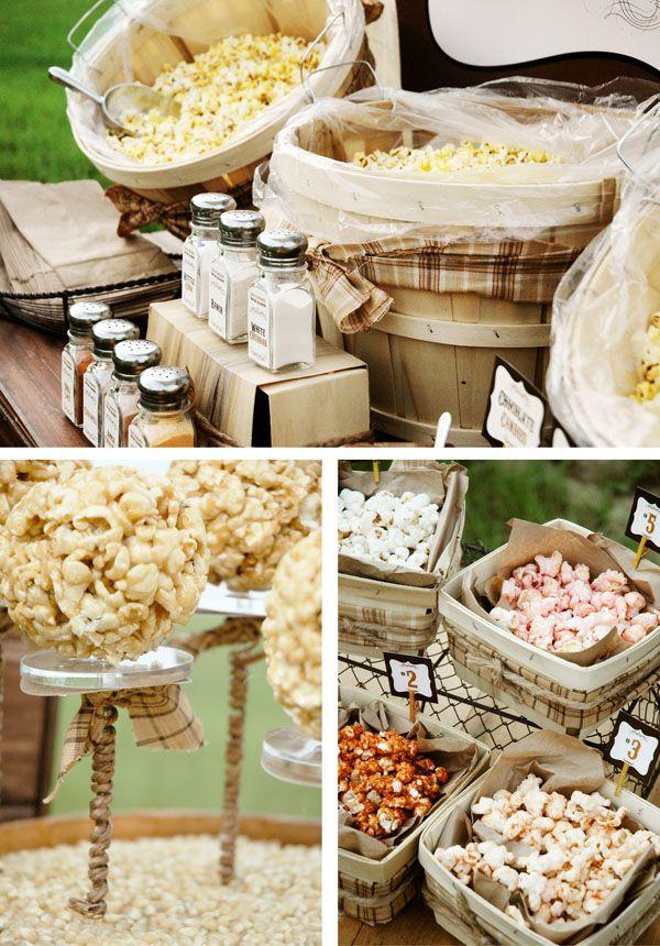 Raising the bar 13 fun wedding food bar or food station for Food bar 2015
