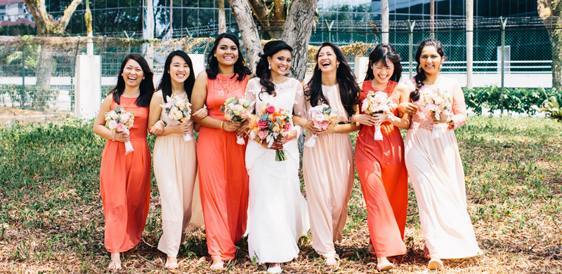 7 Pocket-Friendly Bridesmaids Dress Shopping Spots In