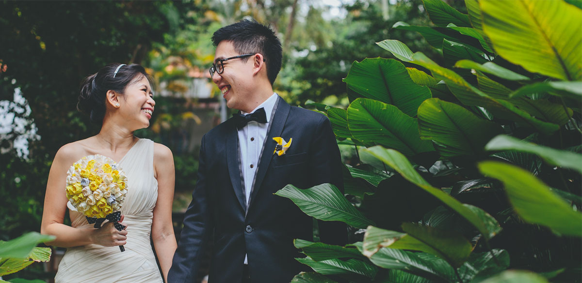 Da Paolo Rochester Singapore Wedding of Genive and Allen feature