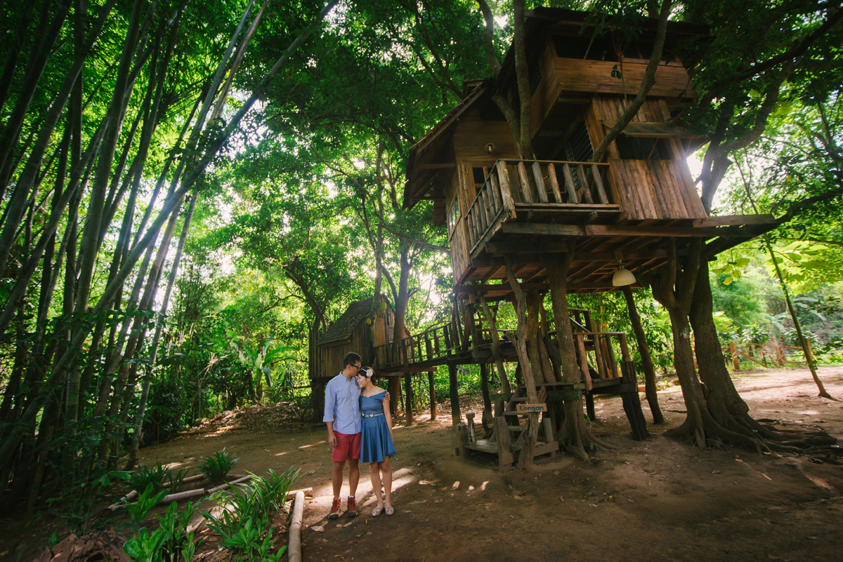 Rebecca and Wei Nien Rabeang Psak Tree House Chiangmai Feature
