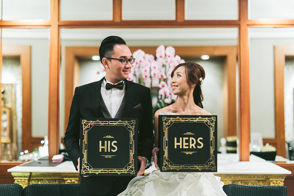 Gatsby Wedding Singapore Four Seasons Hotel feature
