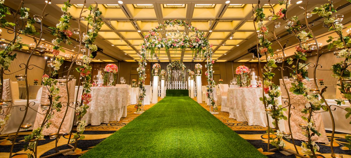 Singapore wedding ballrooms; Singapore hotel ballroom; Regent Singapore