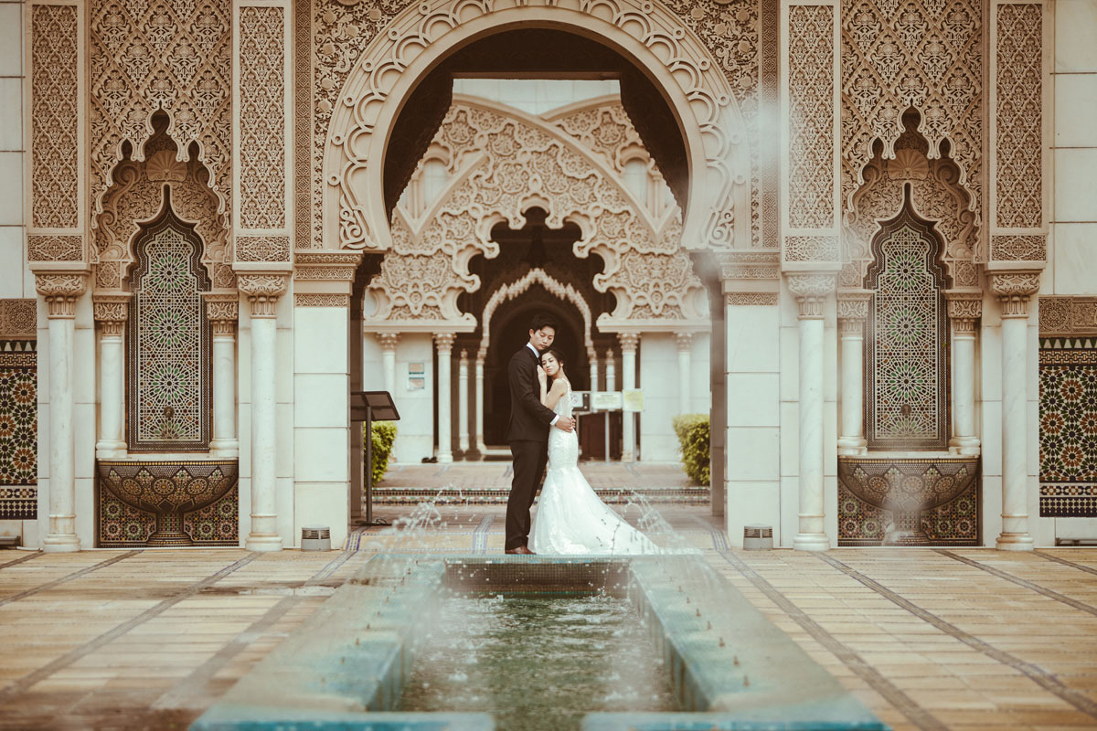 Tansey and Phil's Breath-Taking Pre-Wedding Adventure in Kuala Lumpur Feature