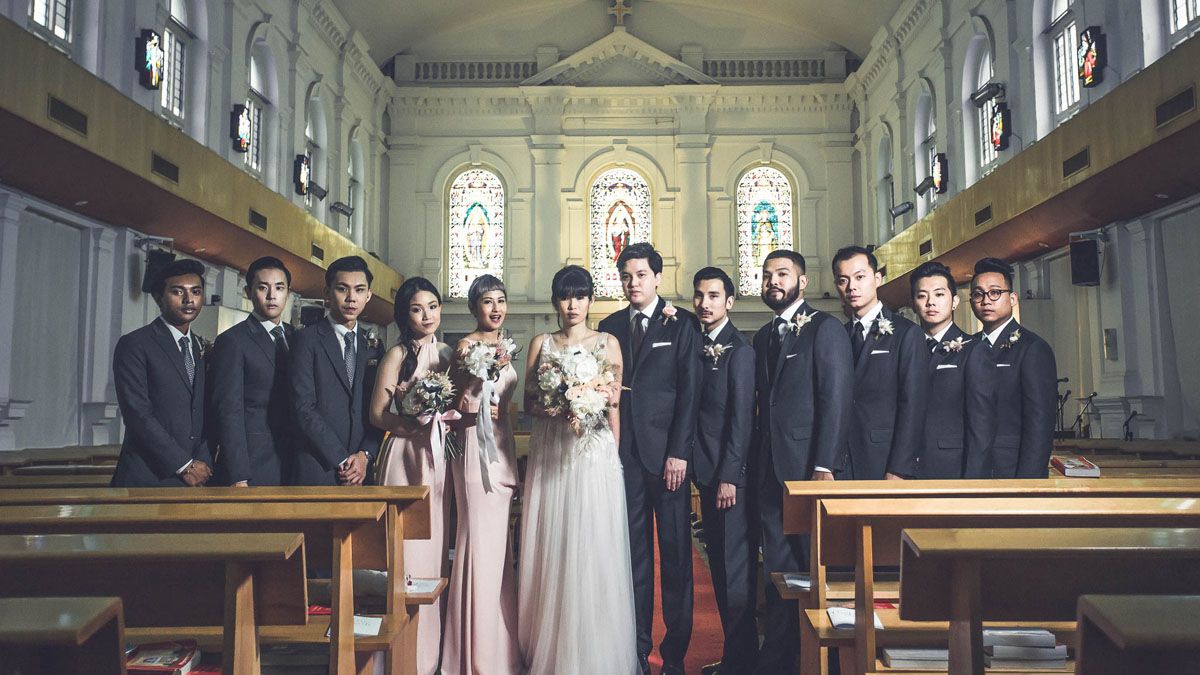 Burnished Gold Wedding at Chuch of the Sacred Heart and Grand Hyatt Singapore71
