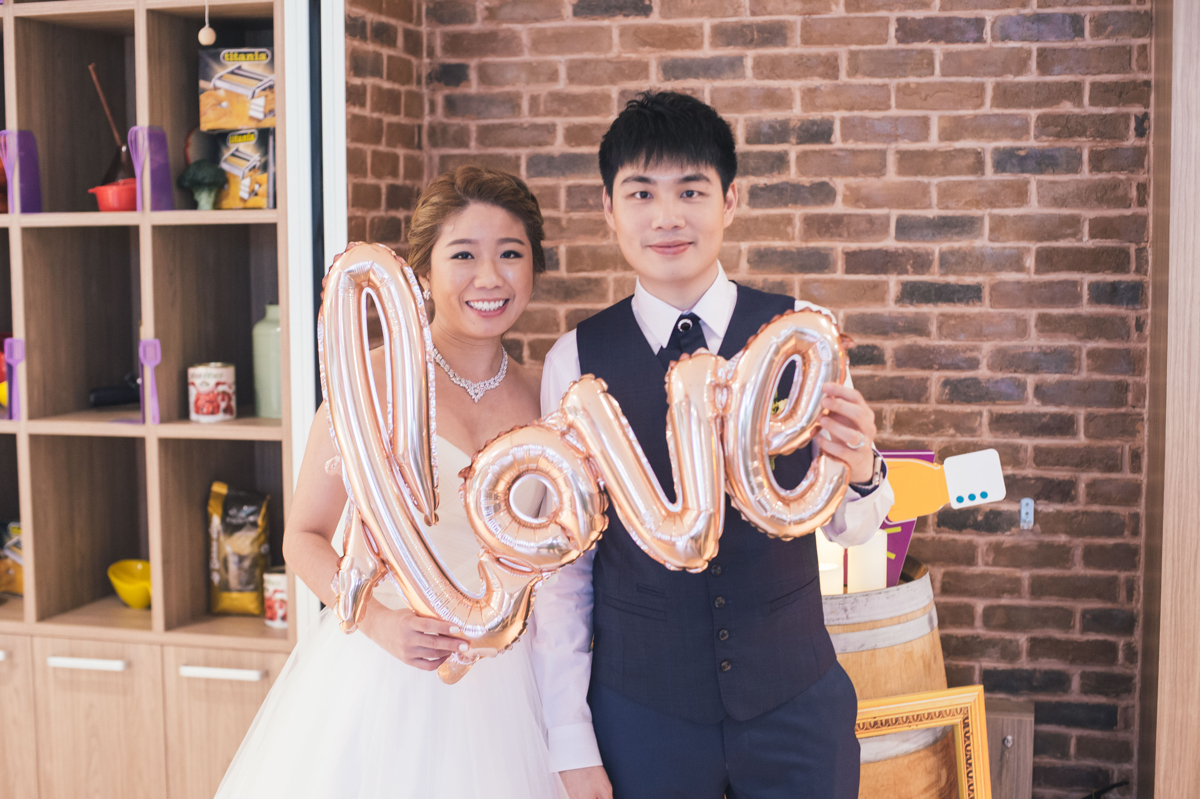 Lay Hiang and Lester's Intimate and Unique Wedding at CulinaryOn Singapore Feature Image