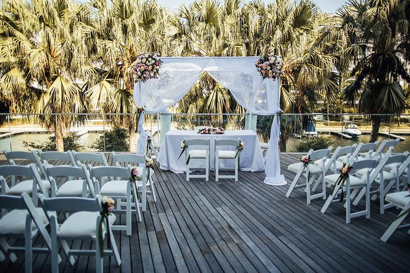 Waterfront Wedding Venue Singapore W Sentosa Cove