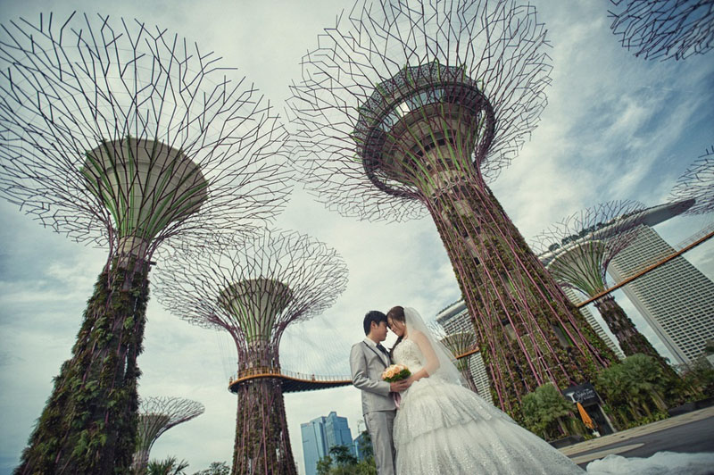 20 Secret Pre Wedding Shoot Locations Singapore Has to Offer