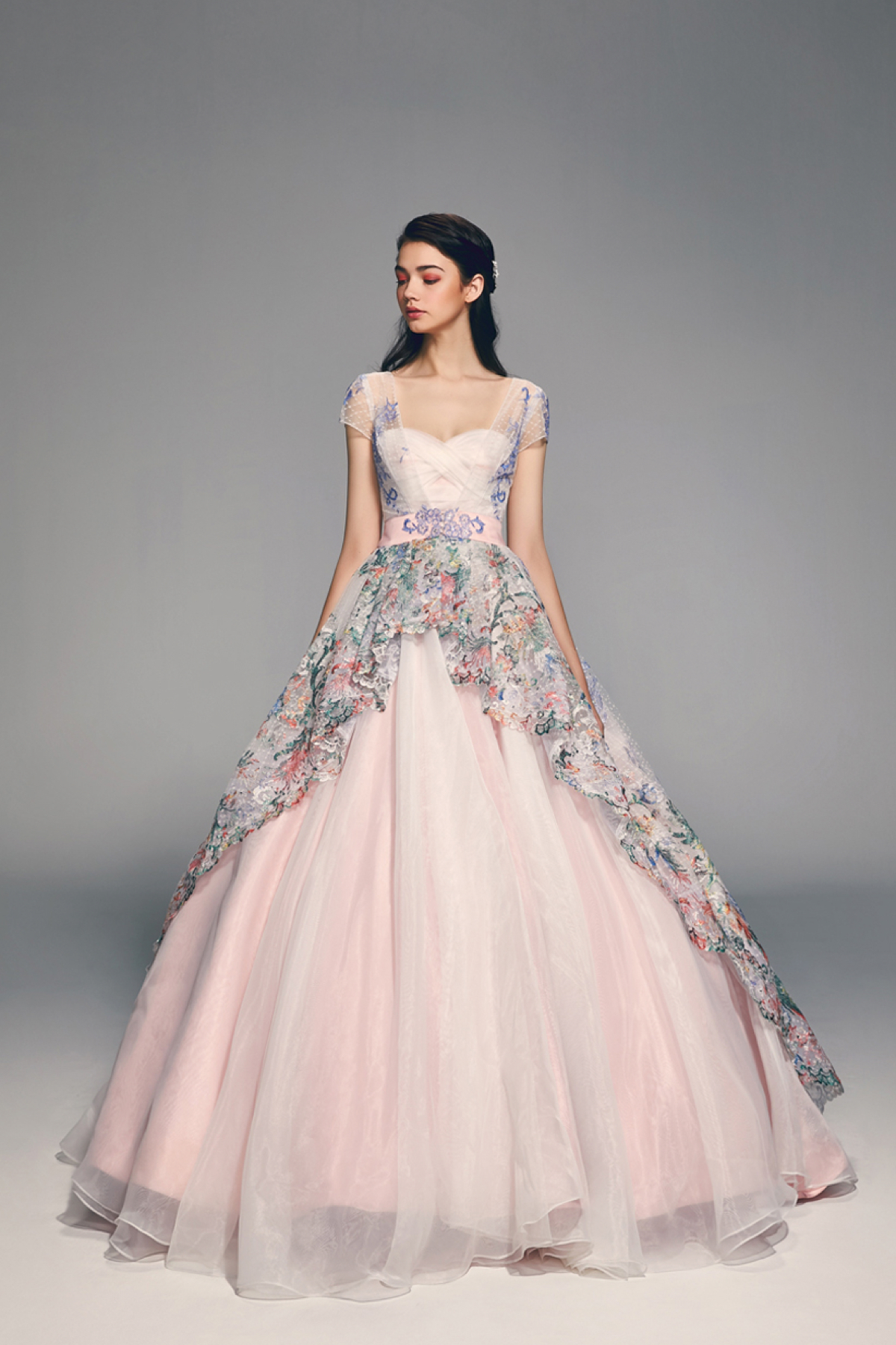17 Inspiring and Trending Wedding Gowns For Spring Summer 2018 60127ed52908