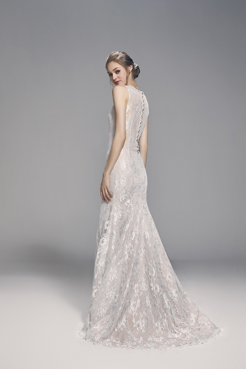 Delicate And Intricate Feminine Lace Completes A Wedding Gown Without Going Over The Top With Details Or Trying Too Hard