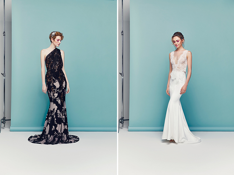 fab0cbdc00b2 Favouring feminine A-lines and flowing fabrics, they strive to make each wedding  dress ...