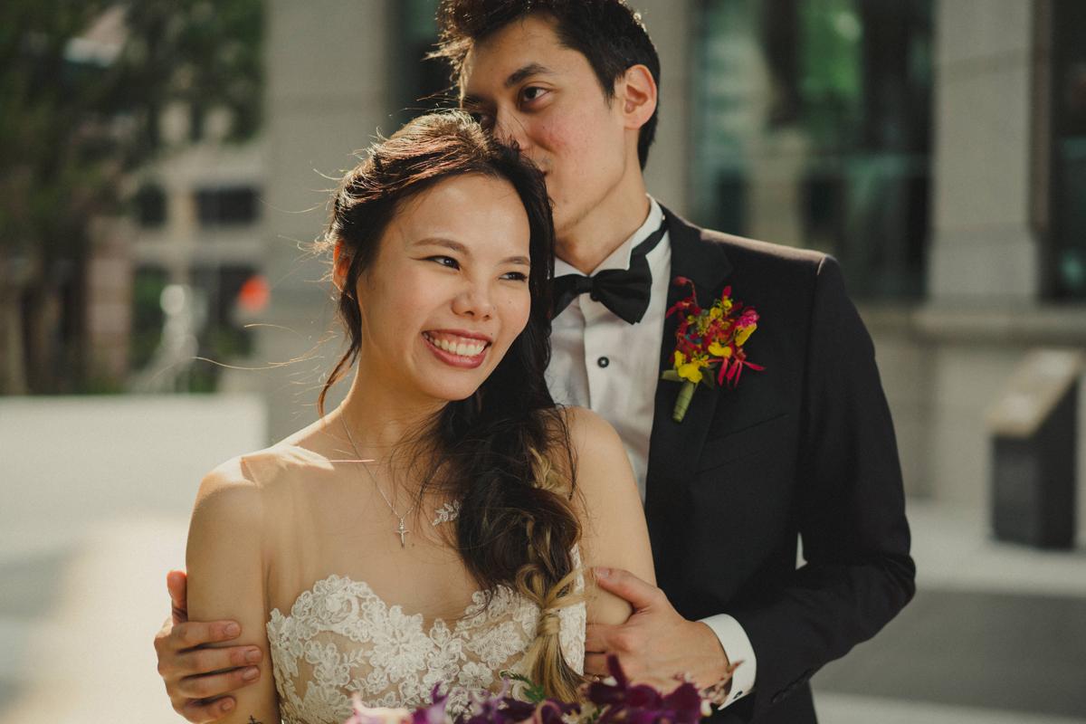 Jia Min and Darren