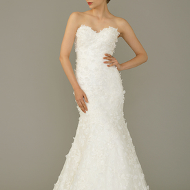 Divine gown6 white trumpet sweetheart lace f