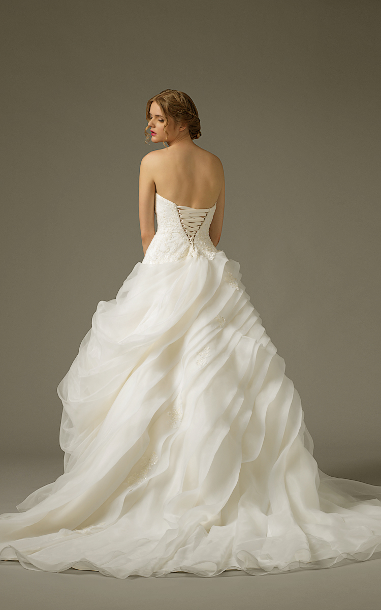 Jawn gown1 white ball sweetheart lace b