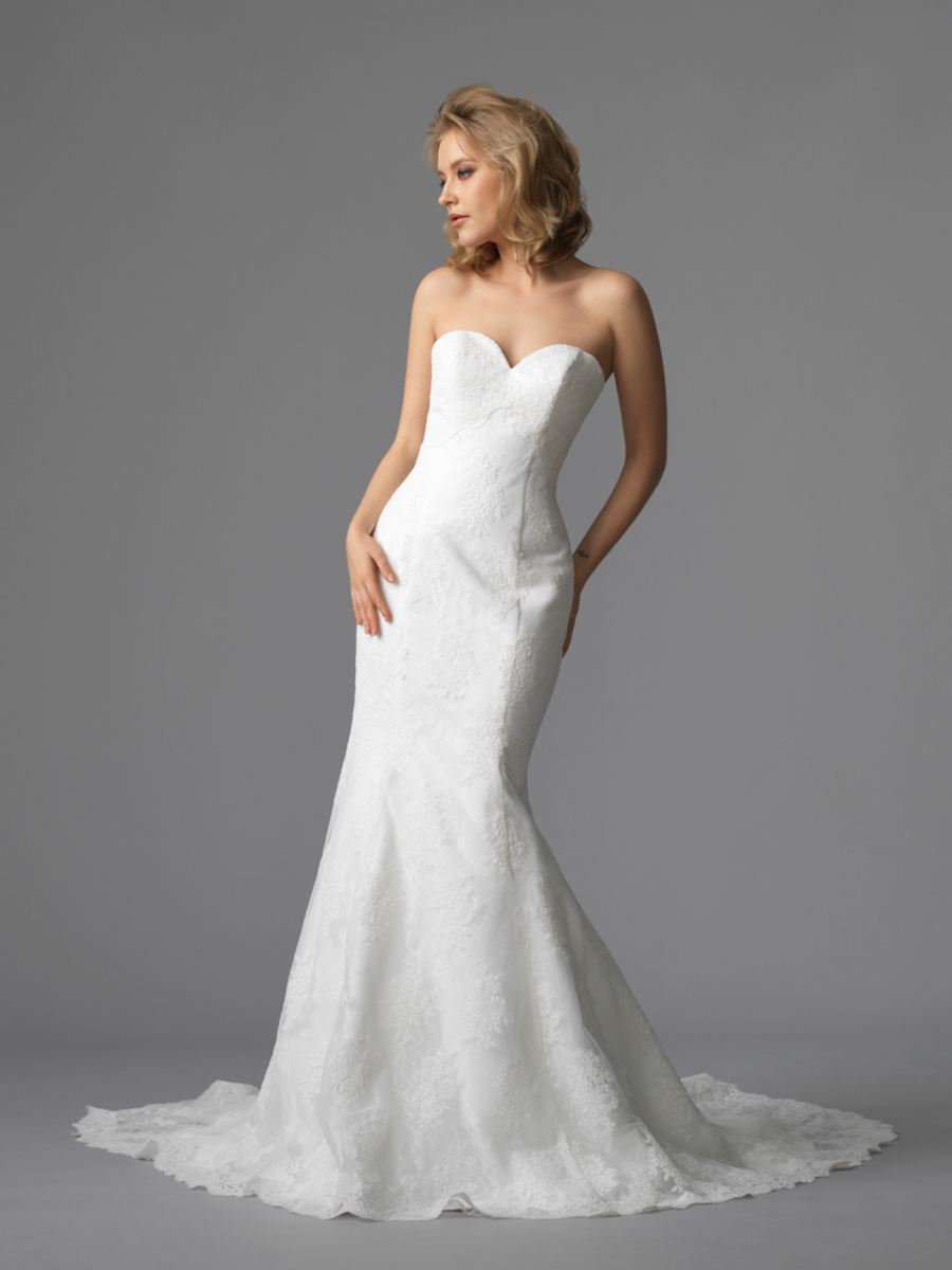 Sil gown2 white trumpet sweetheart lace f
