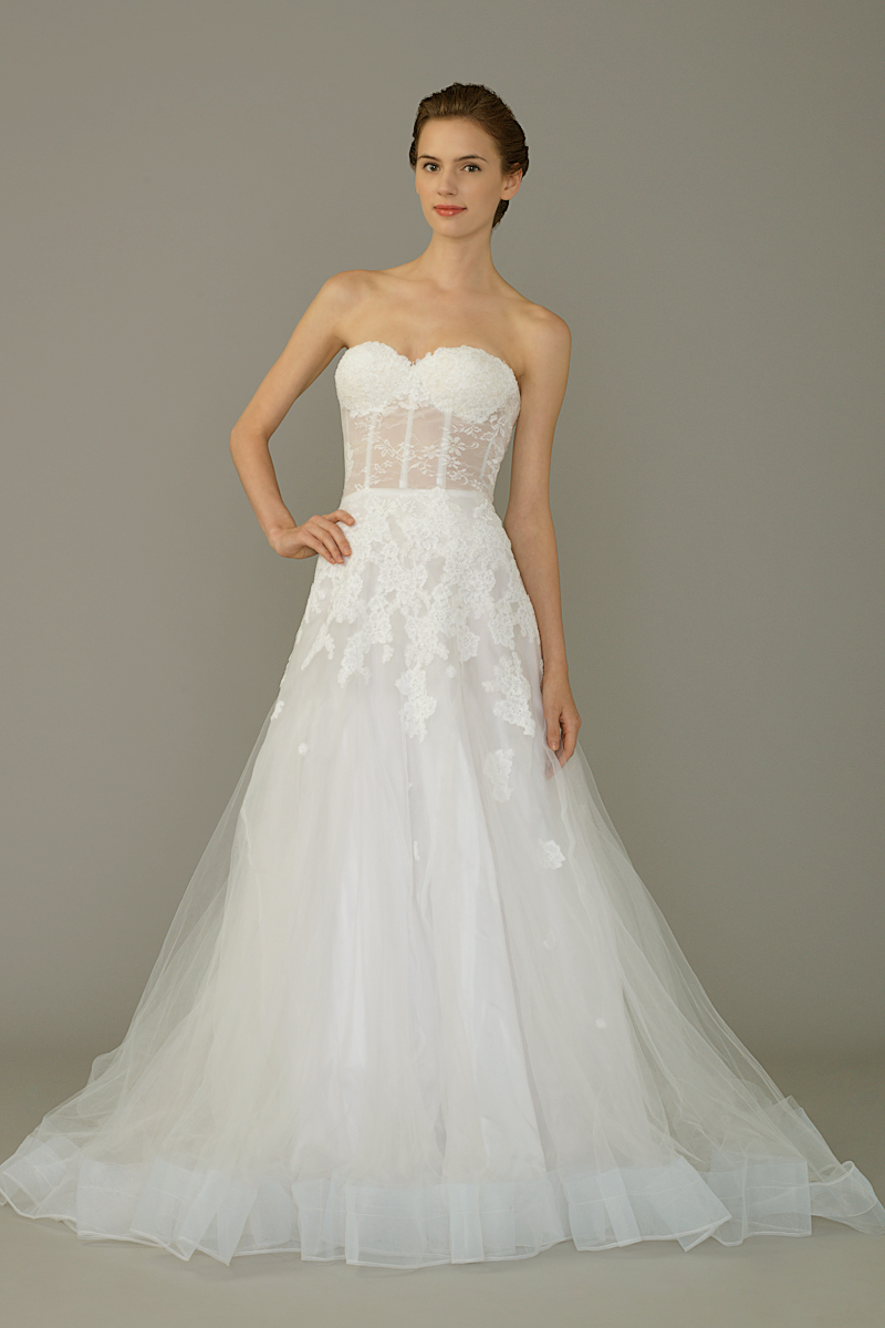 Am gown6 white aline sweetheart tulle f