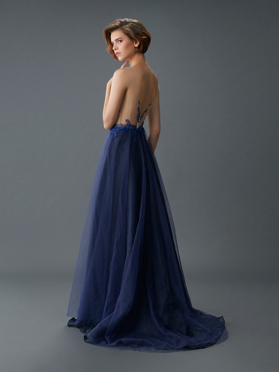Am gown4 blue aline ill tulle b