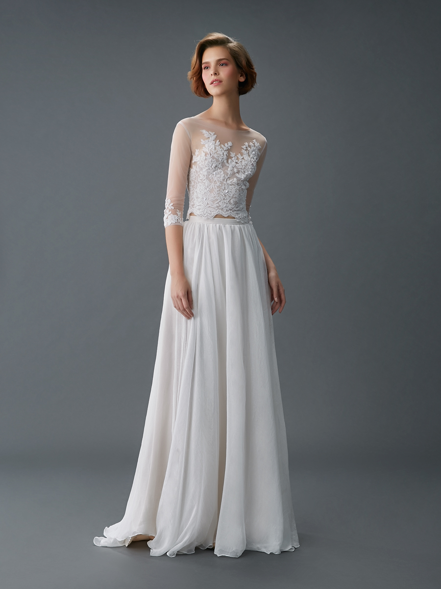 Am gown2 white aline ill lace f