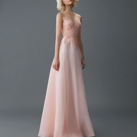 Am gown5 pink aline ill tulle f