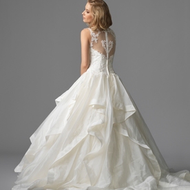 Seletar gown1 ivory ball sweetheart organza b