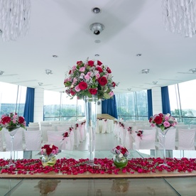 Solemnization set up
