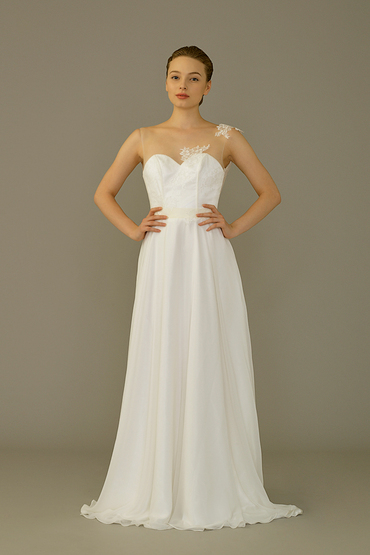 Princess/A-Line Gown by Silverlining Bridal Couture