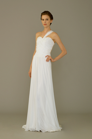 Sheath Gown by Silverlining Bridal Couture