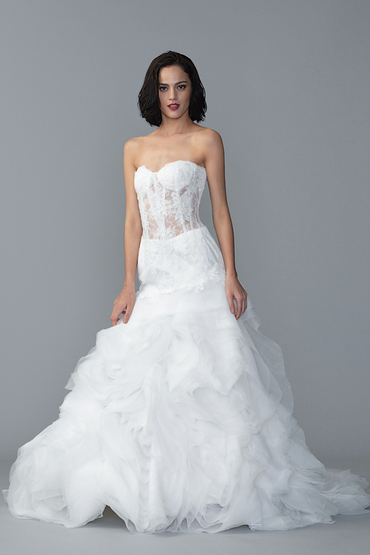 Fit and Flare Gown by The Aisle Bridal