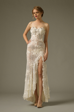 Sheath Gown by Bluebay Wedding