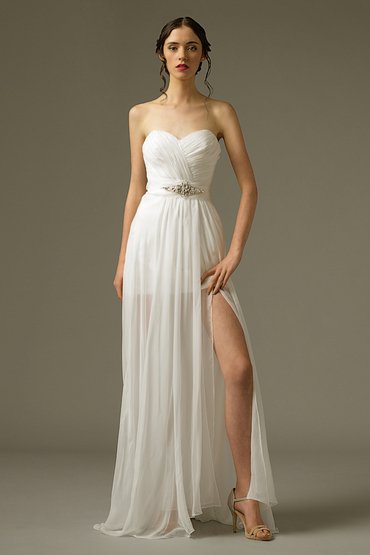 Sheath Gown by The Louvre Bridal