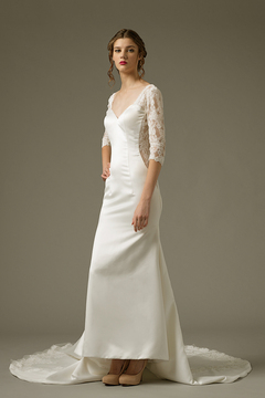 Sheath Gown by Yvonne Creative Bridal & Photo Studio