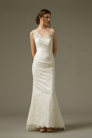 Sheath Gown by Yvonne Creative Bridal