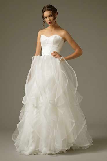 Princess/A-Line Gown by The Louvre Bridal