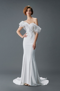 Sheath Gown by Malena Bridal Haute Couture