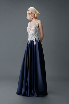 Princess/A-Line Gown by Malena Bridal Haute Couture