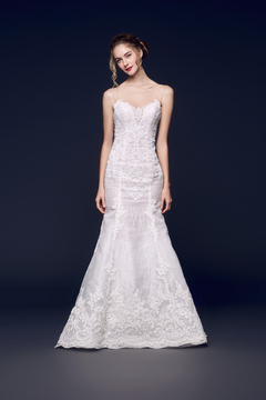 Fit and Flare Gown by WhiteLink Bridal