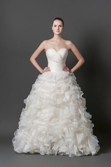 Princess/A-Line Gown by Yvonne Creative Bridal & Photo Studio