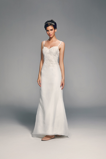 Sheath Gown by Flamingo Bridal