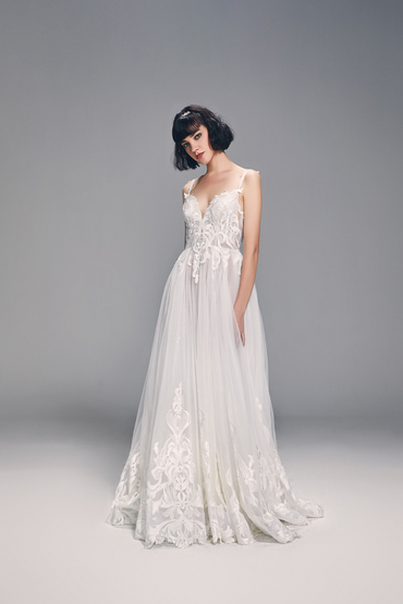 Princess/A-Line Gown by Luna Bianca Bridal Boutique