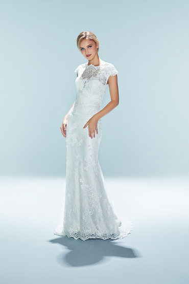 Sheath Gown by Dang Bridal