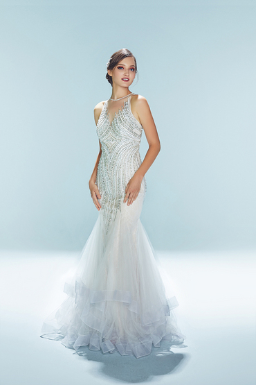 Trumpet Gown by Luna Bianca Bridal Boutique