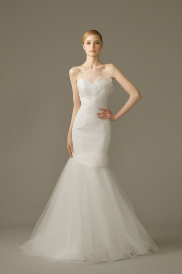 Trumpet Gown by Dang Bridal