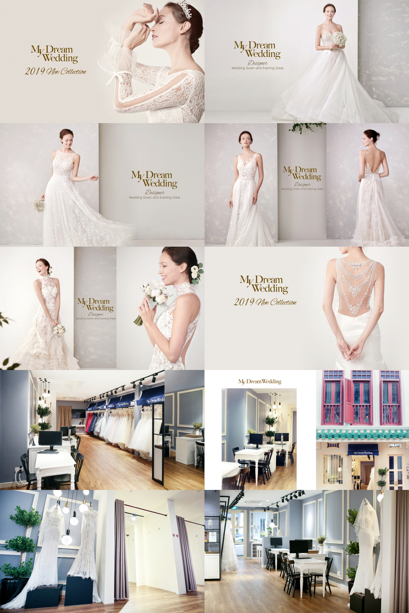 Glitz Glamour Grand Launch Of My Dream Wedding S 2019 Bridal Gowns Collection Singaporebrides
